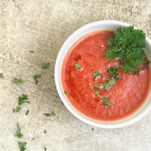 salsa de tomate cocido