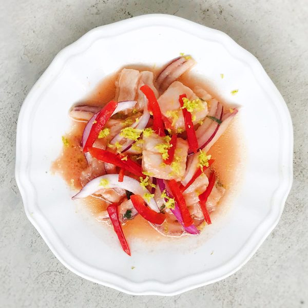 ¿Cómo se hace el ceviche de pescado?