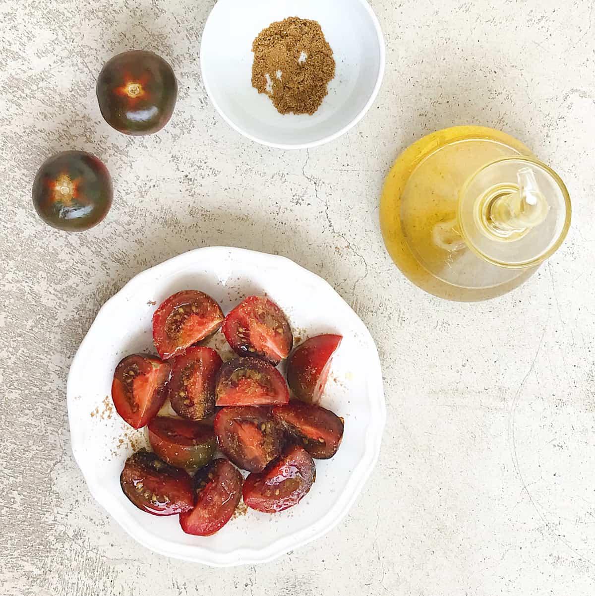 Cómo hacer una ensalada de tomate fácil