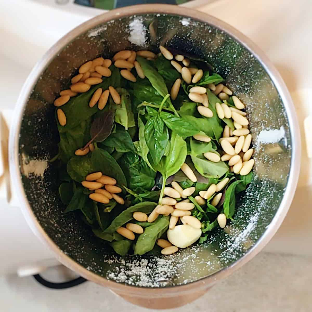 Pesto en thermomix