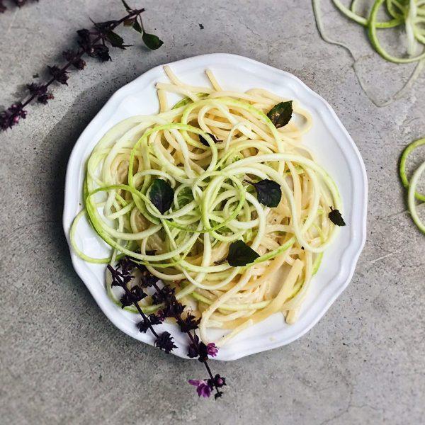 Receta de espaguetis de verdura