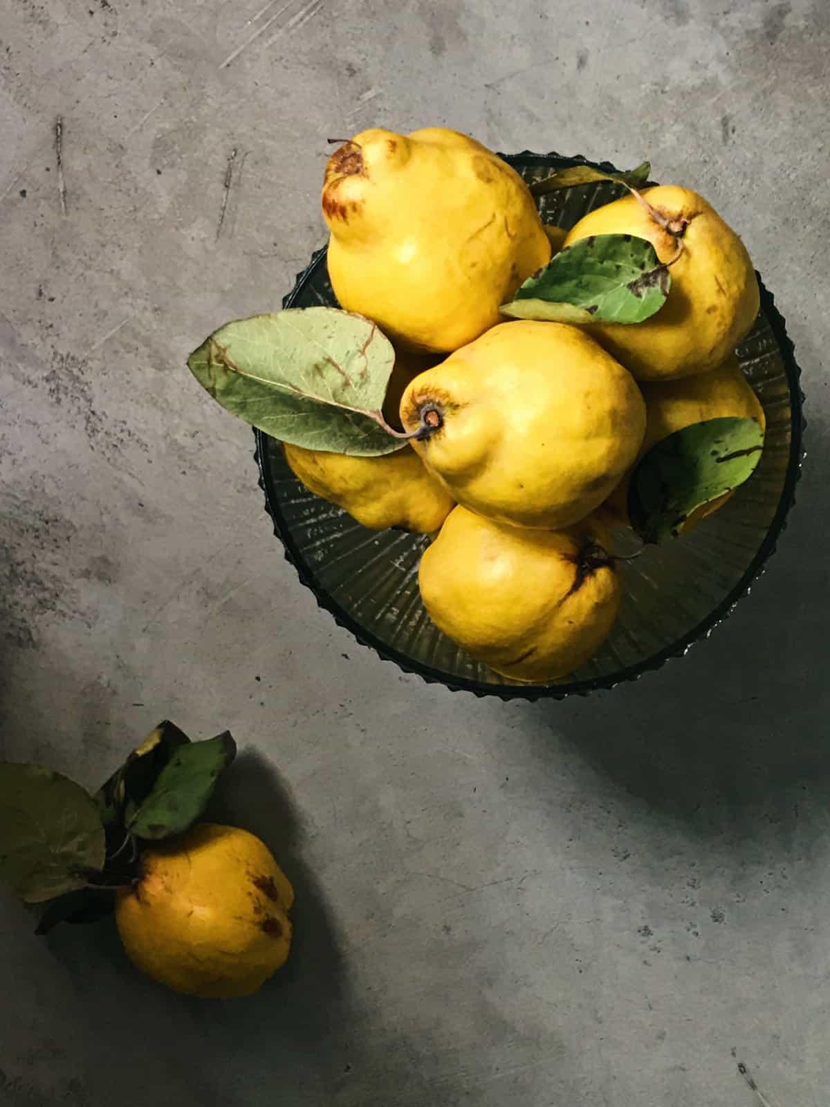 Membrillo fruta