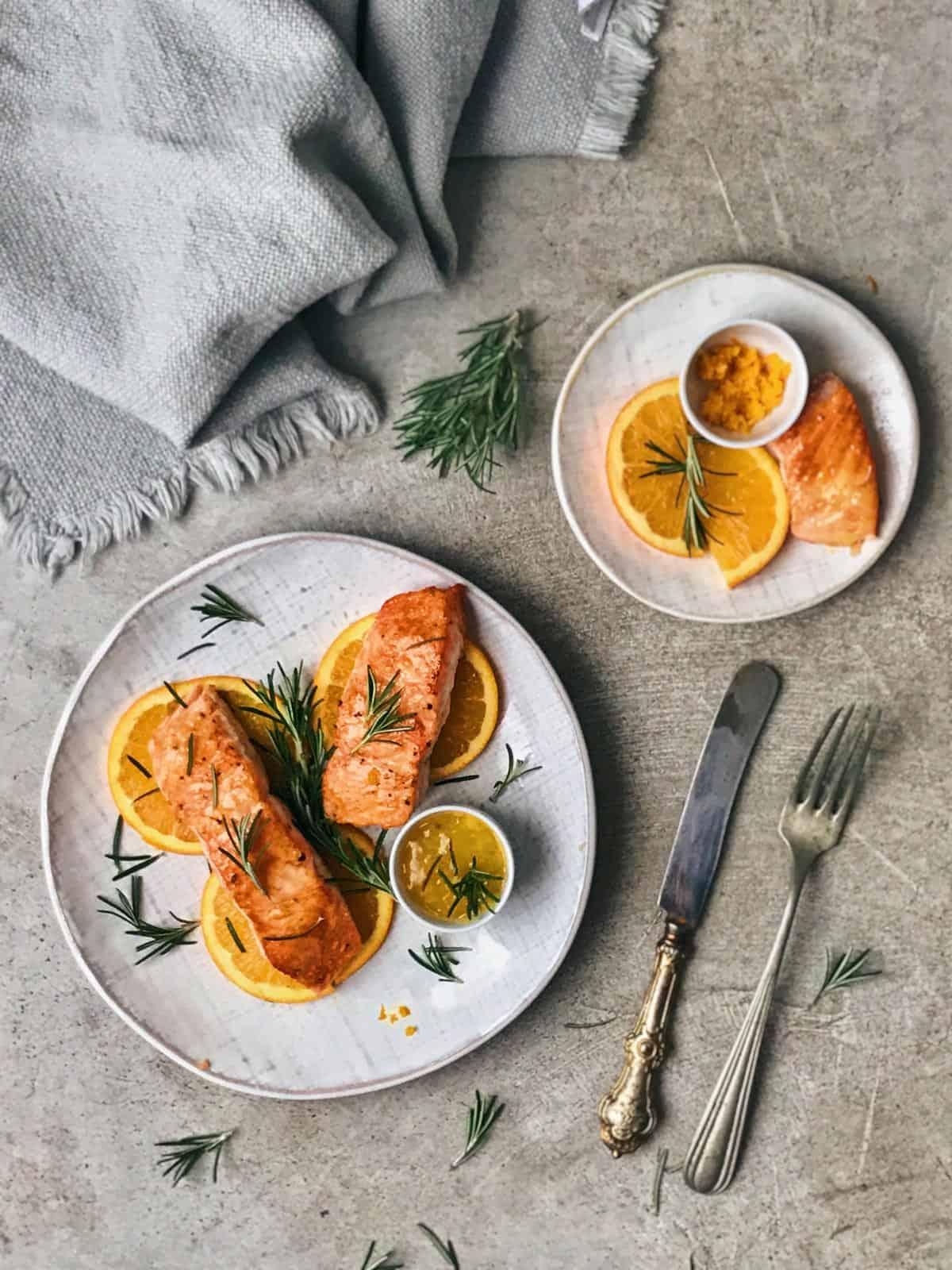 Recetas de salmón sanas