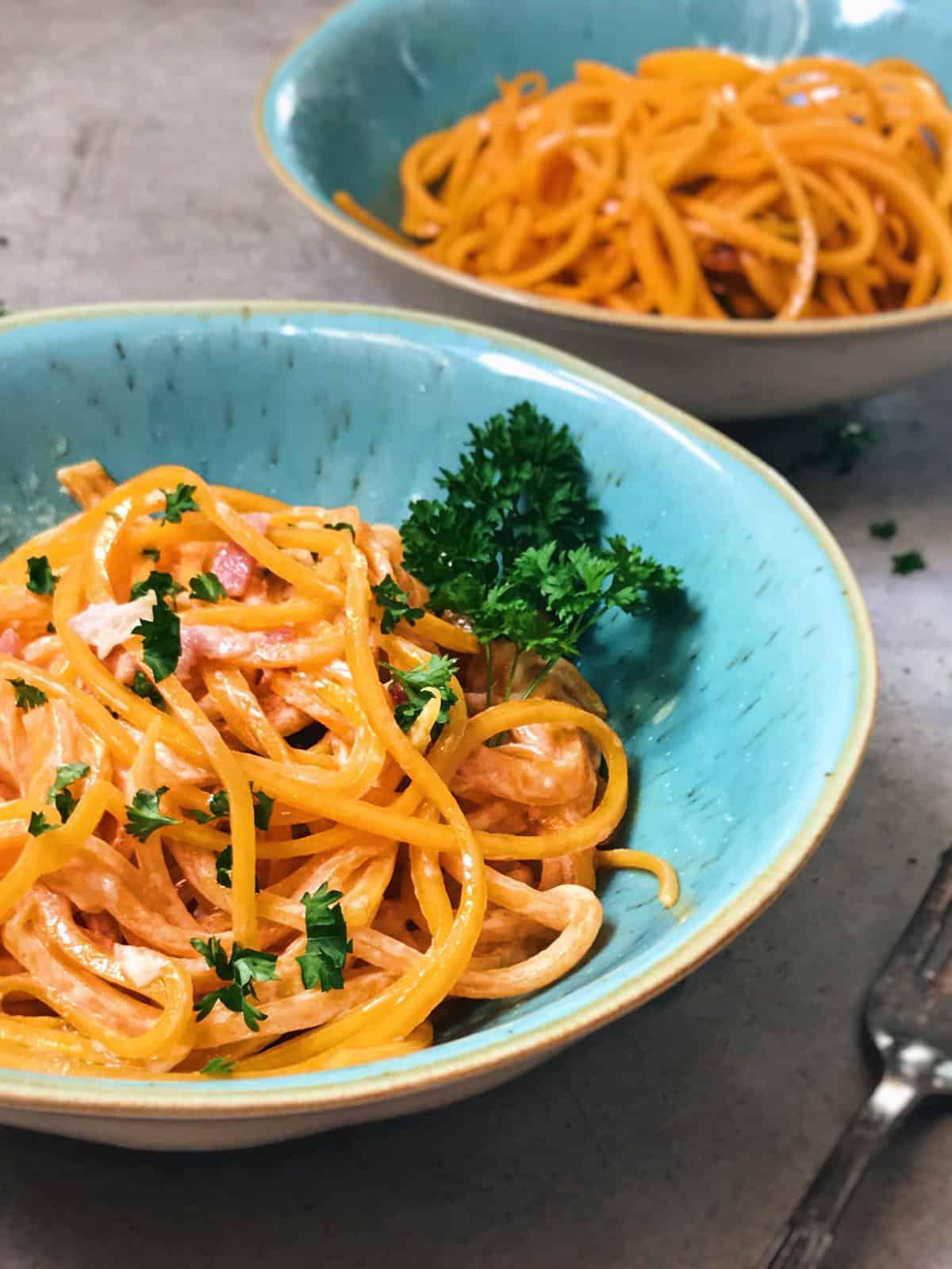 Espaguetis de calabaza hermanos torres