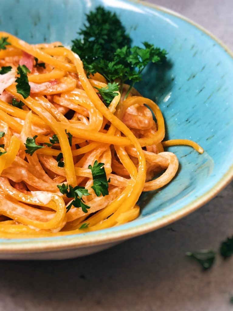 recetas de espaguetis carbonara