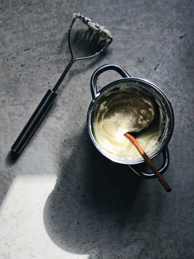 Puré de patatas sencillo