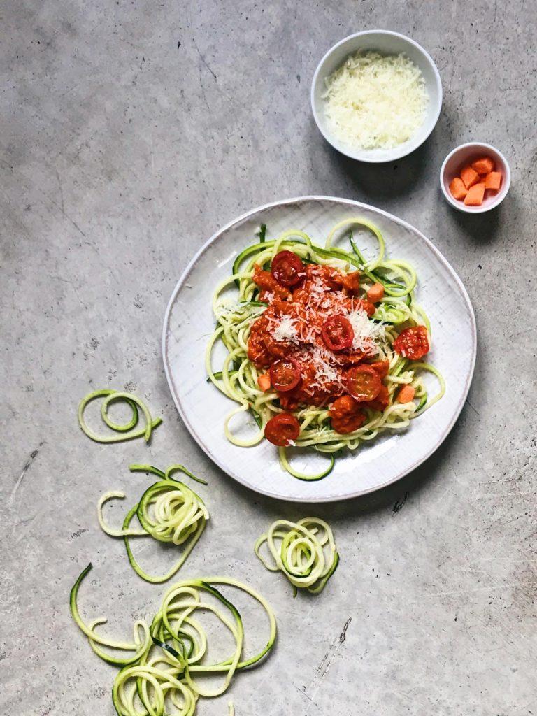 ¿Cómo hacer espaguetis de calabacín?