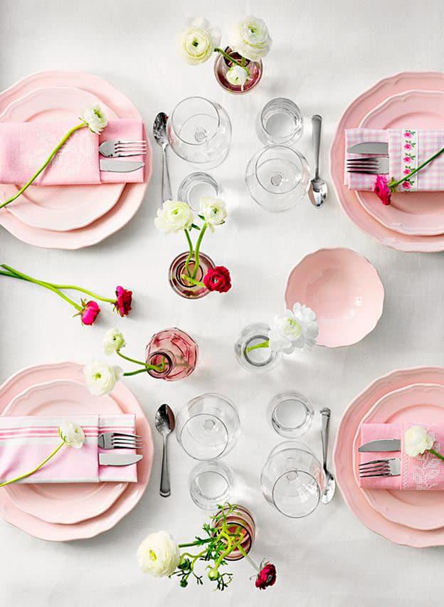 Cómo poner la mesa informal ikea