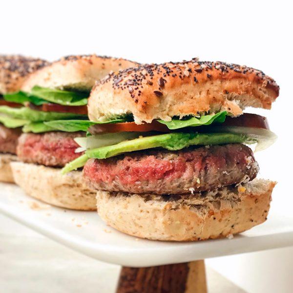 Receta de hamburguesas sanas
