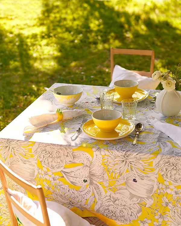 Cómo poner la mesa informal