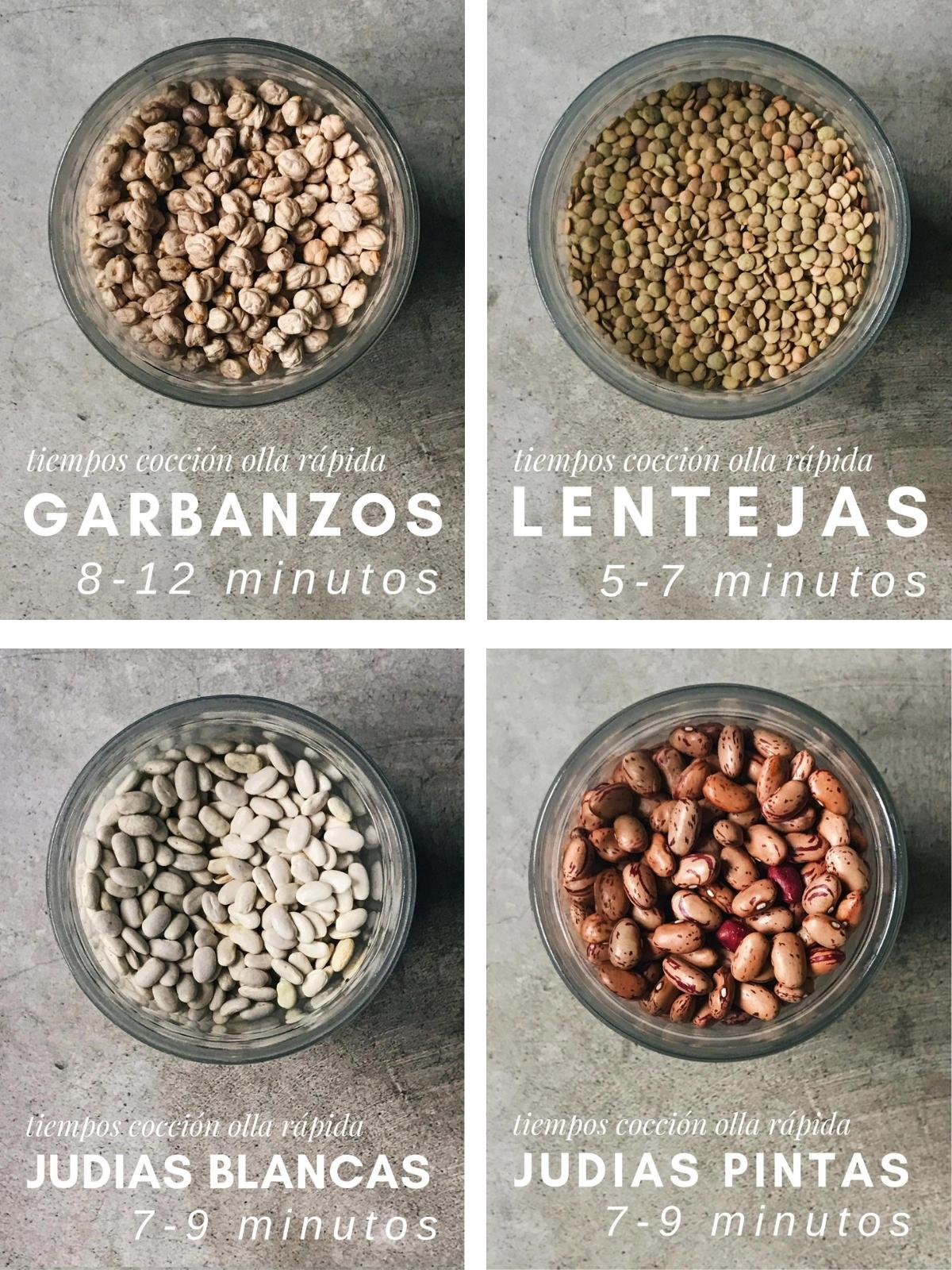 ¿Cuánto tiempo tardan en cocer las legumbres?