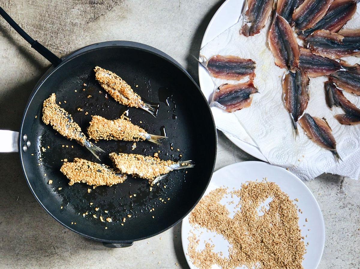 Cómo hacer sardinas