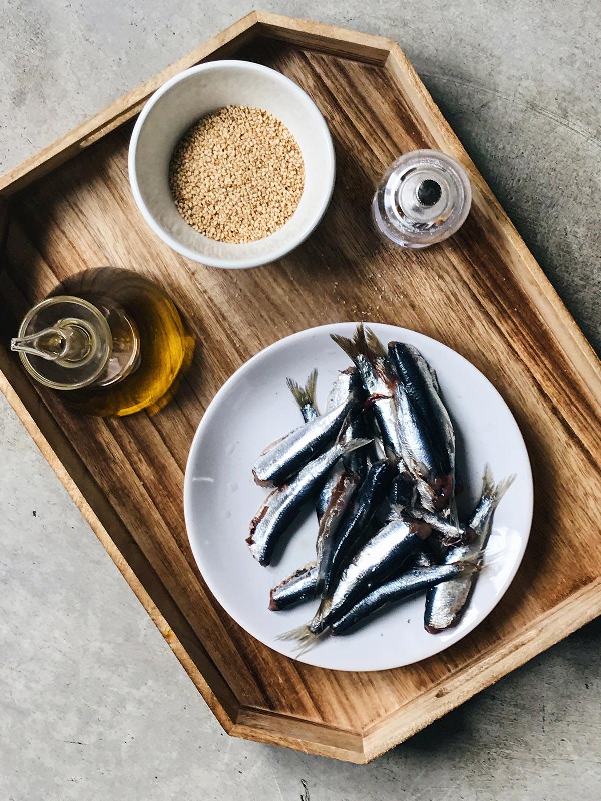 receta de ingredientes de sardinas