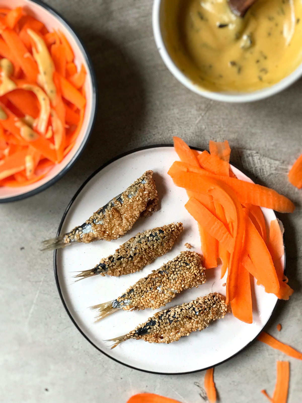 Receta de sardinas