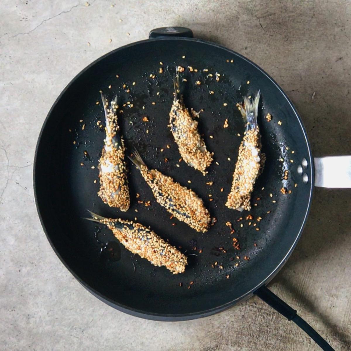 Receta de sardinas fritas