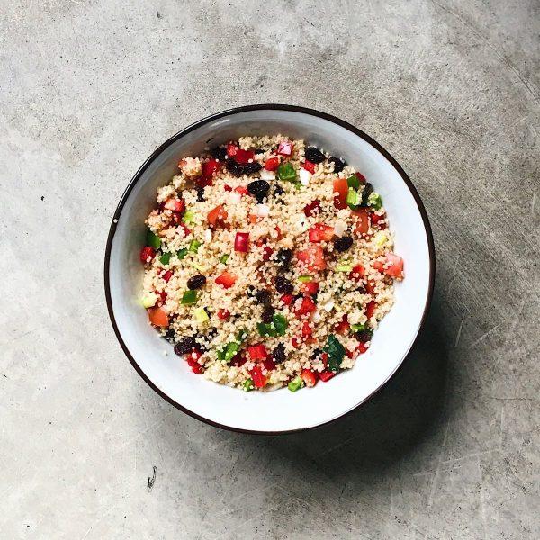 receta de tabule de quinoa
