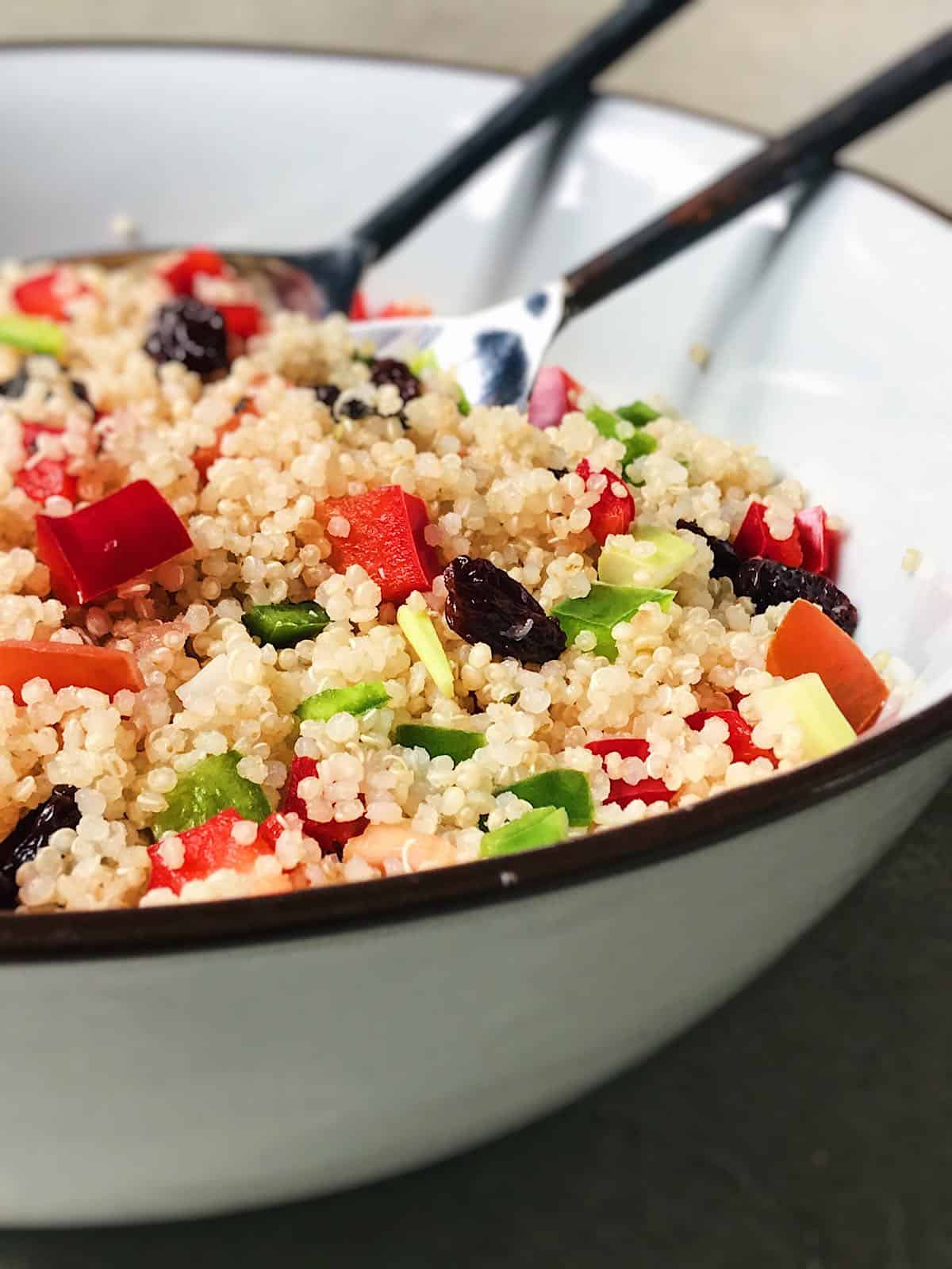 como preparar tabule de quinoa