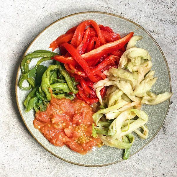 Receta de verduras asadas