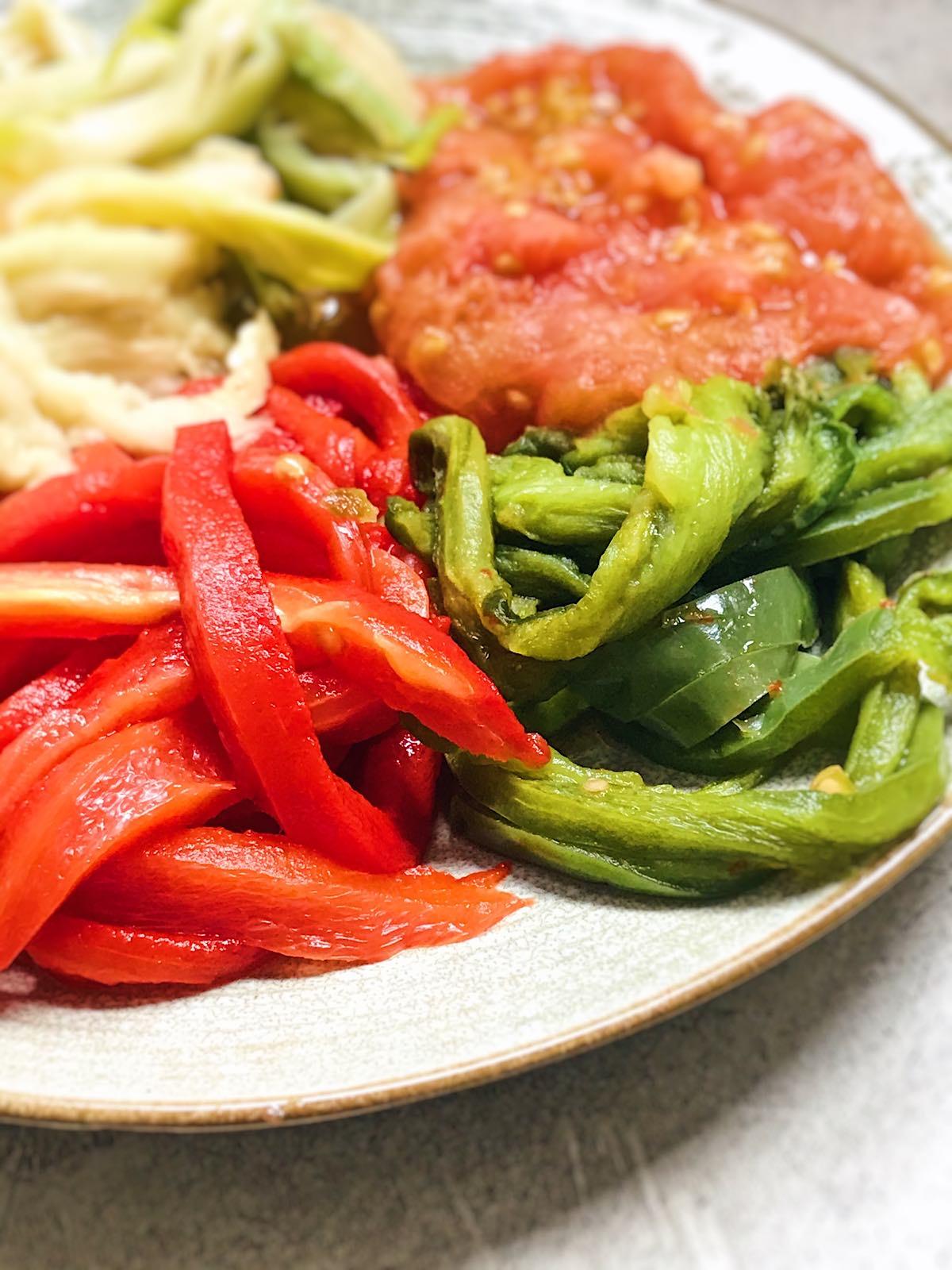 receta de verduras asadas con microondas