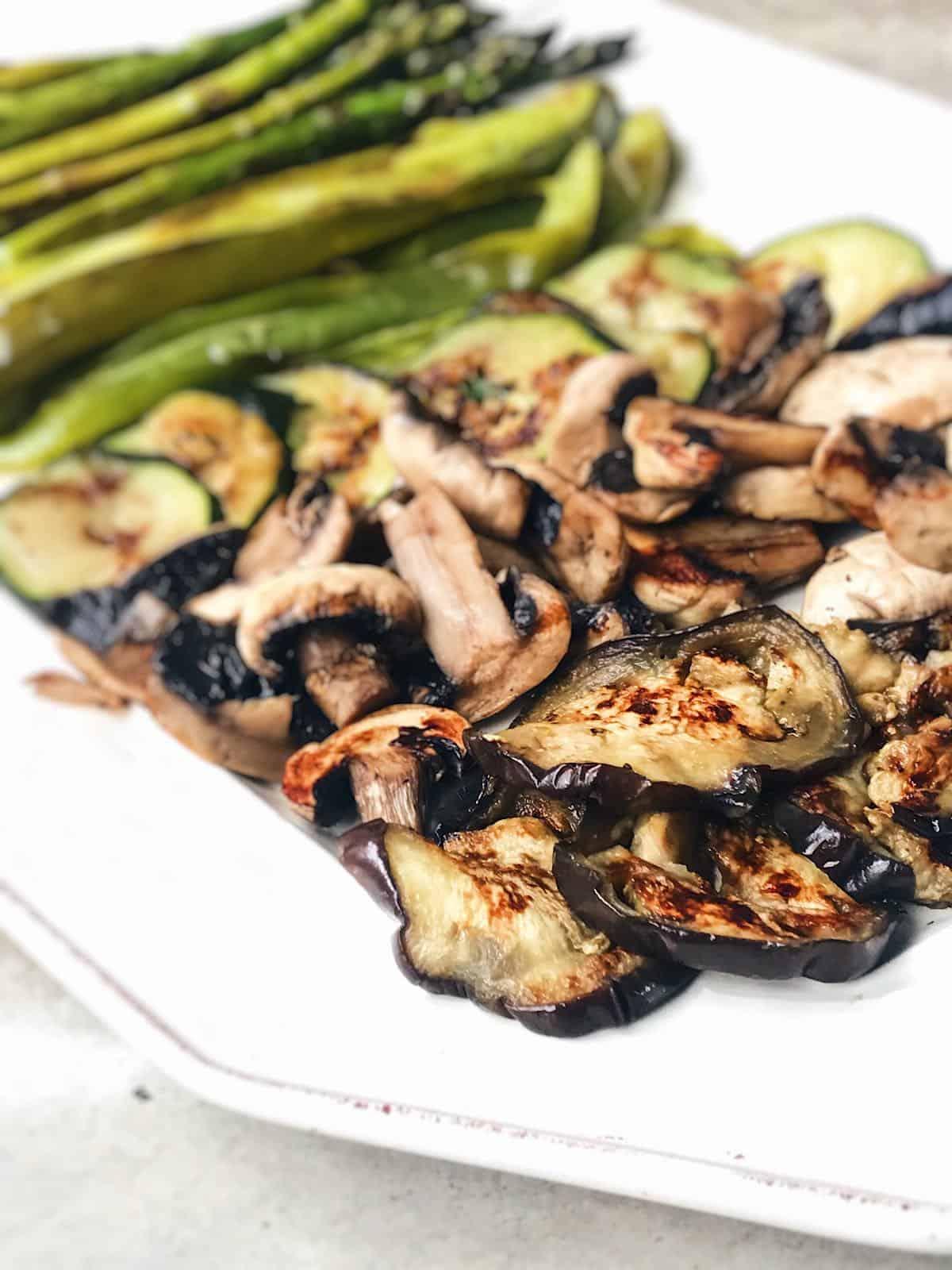 receta de verduras sanas a la plancha