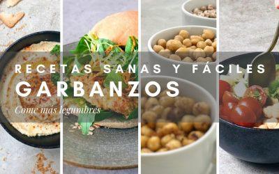 RECETAS SANAS Y FÁCILES DE GARBANZOS