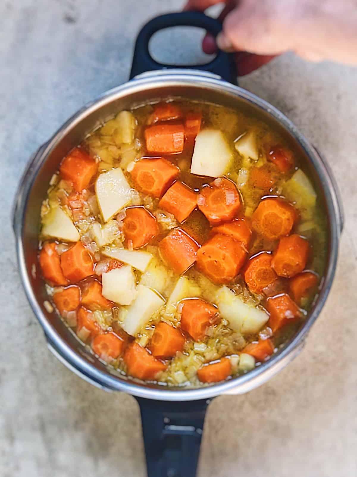 Crema de verduras receta facil
