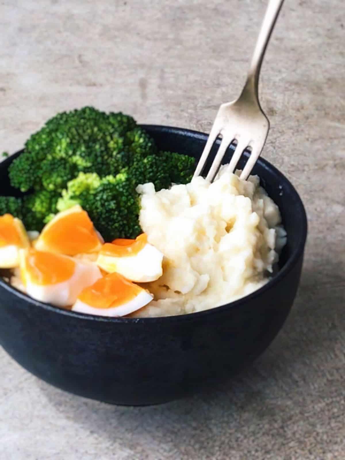 receta vegetariana con brocoli