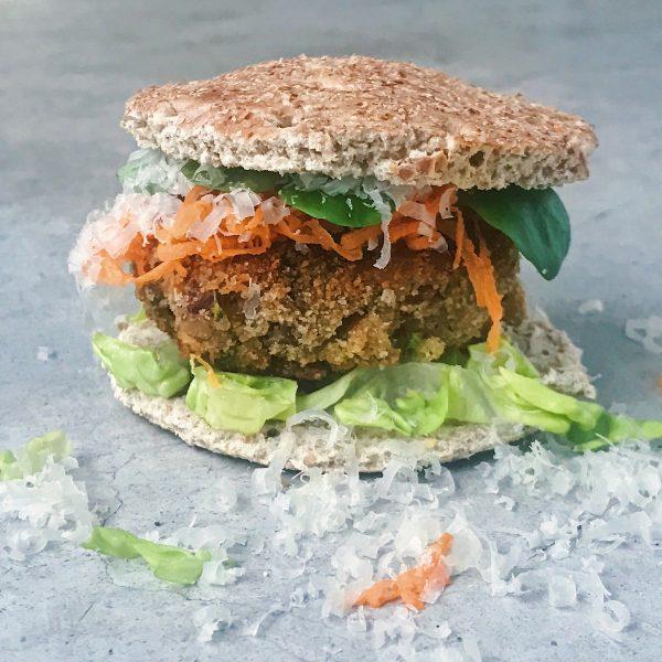 receta de hamburguesas de judias pinta