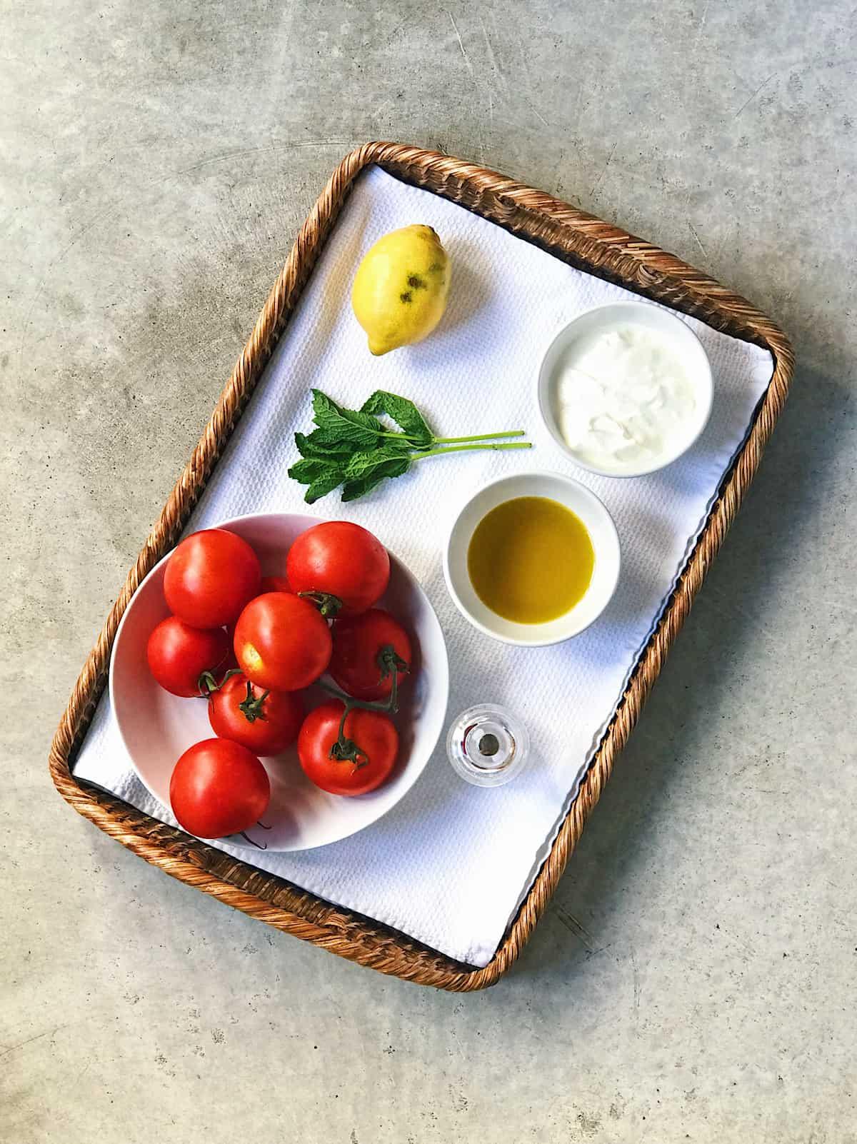ingredientes de sopa griega