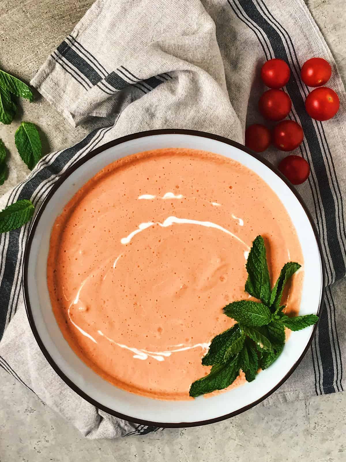 receta facil de sopa fria