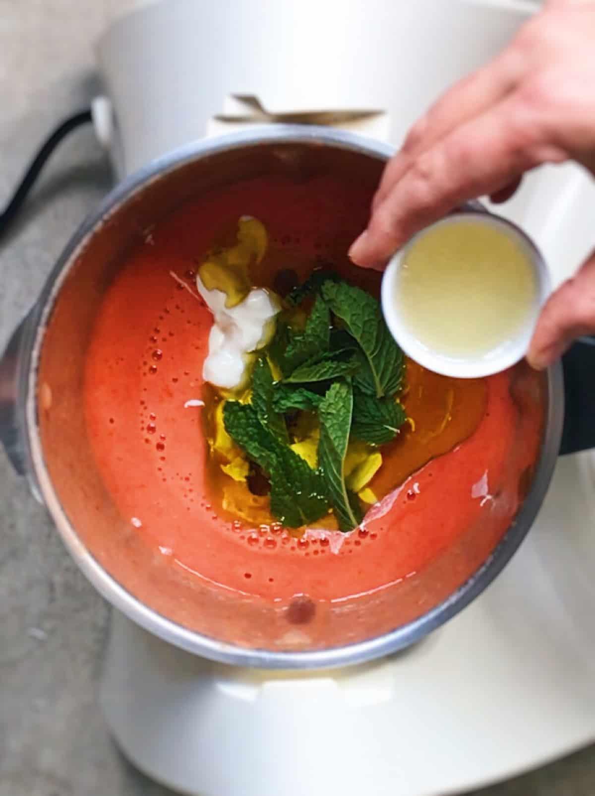 sopa griega sana y facil