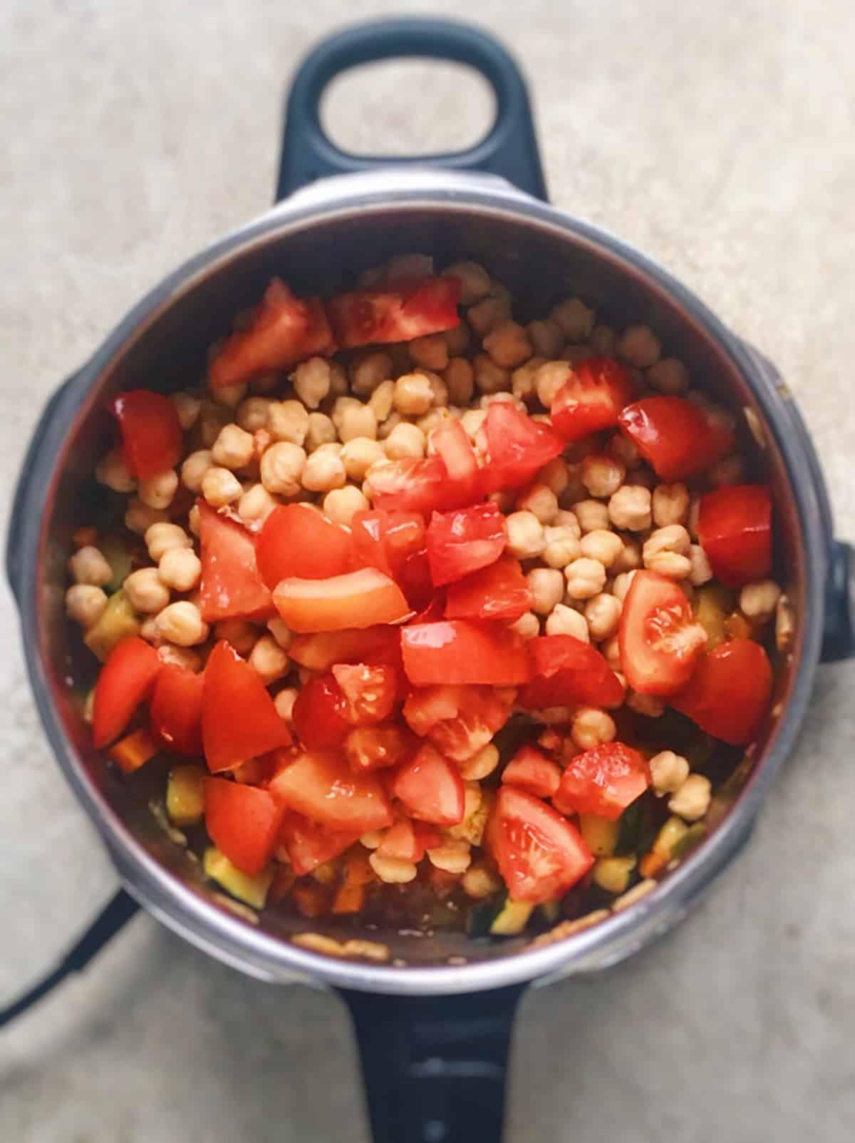 Receta facil de sopa minestrone
