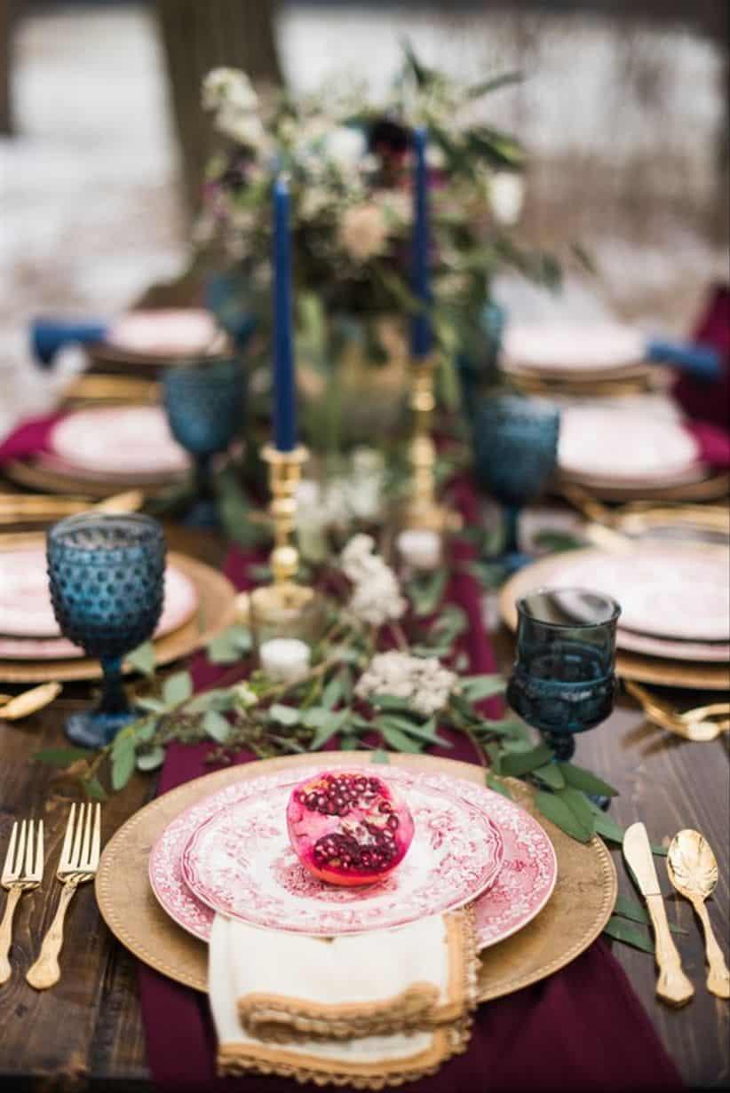 mesa otoñal weddingwire