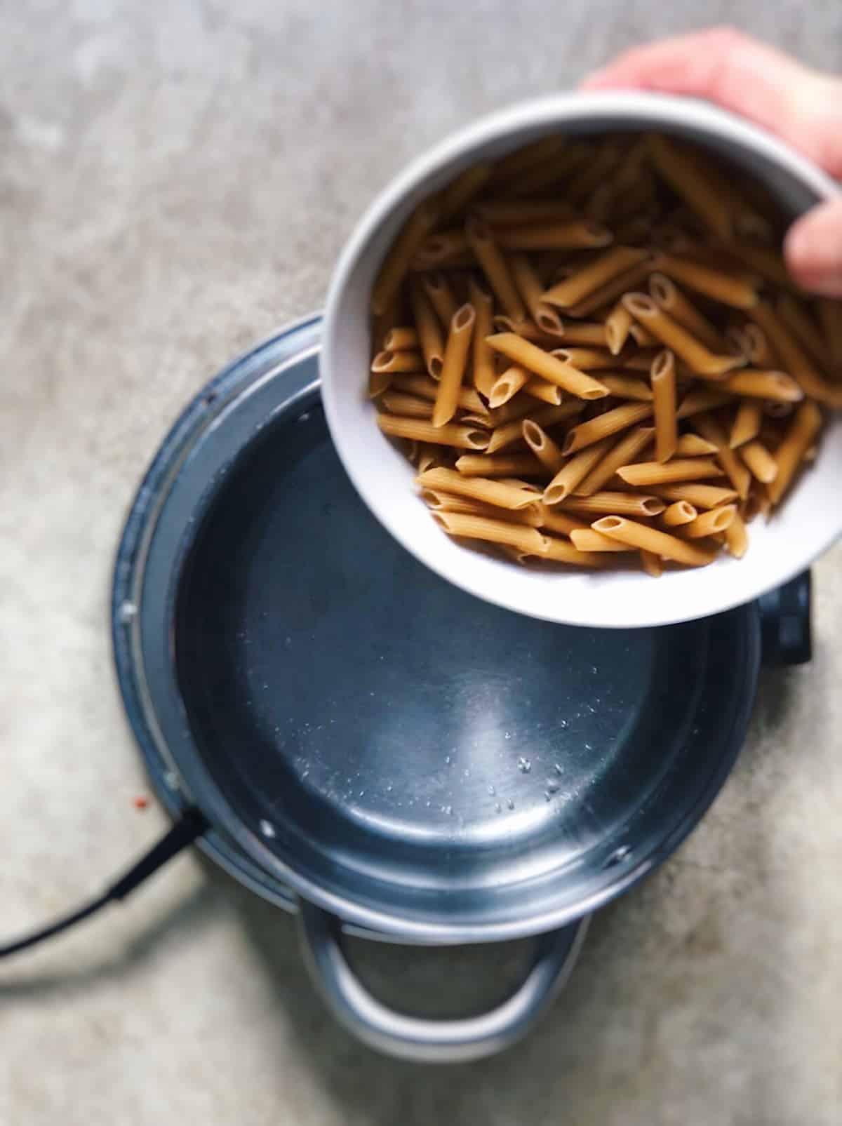 Cocer pasta integral