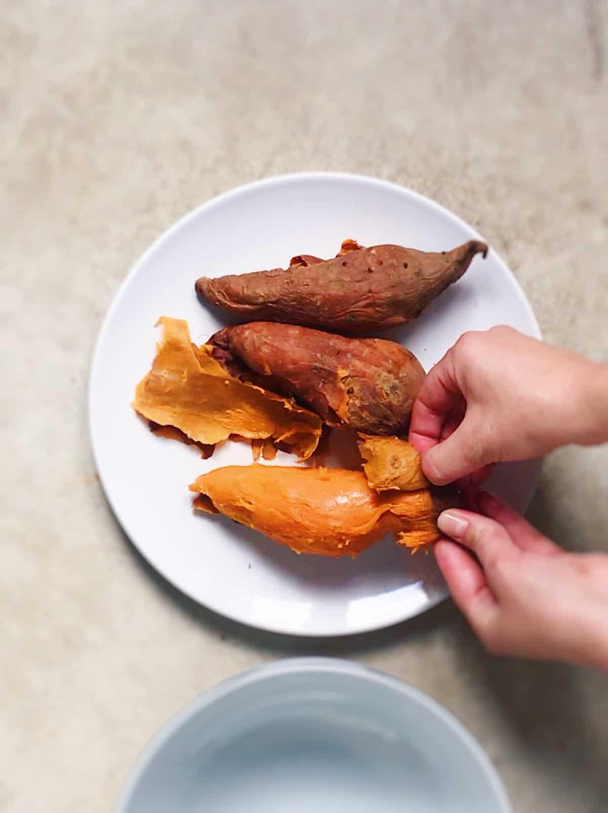 pure de batata receta vegana