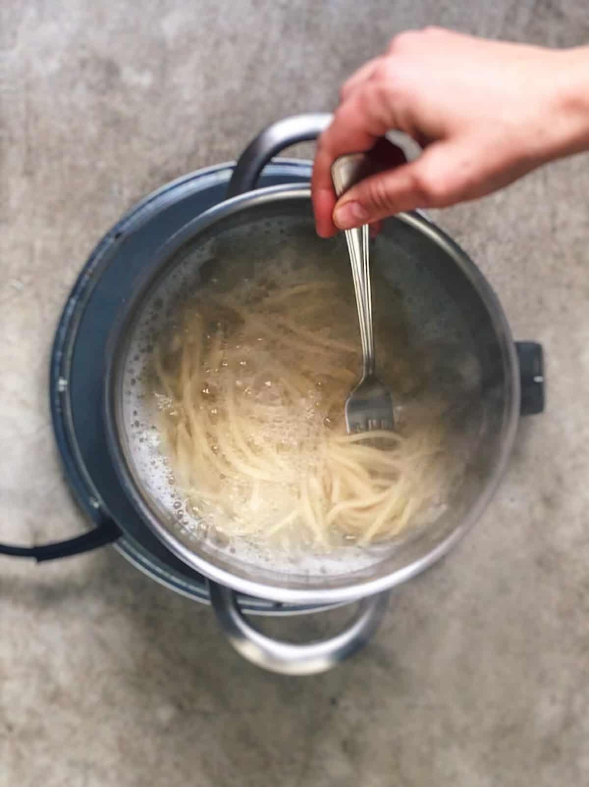 Cocer espaguetis