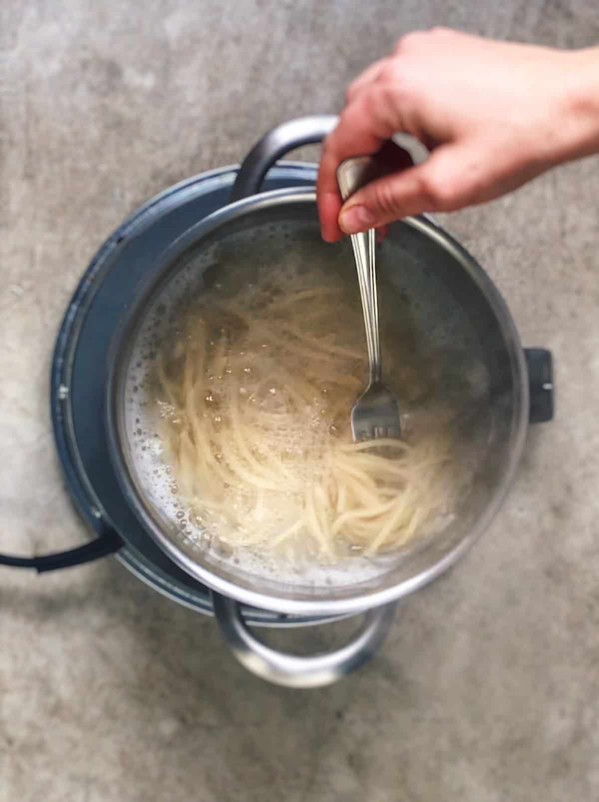 Tiempo de coccion de la pasta