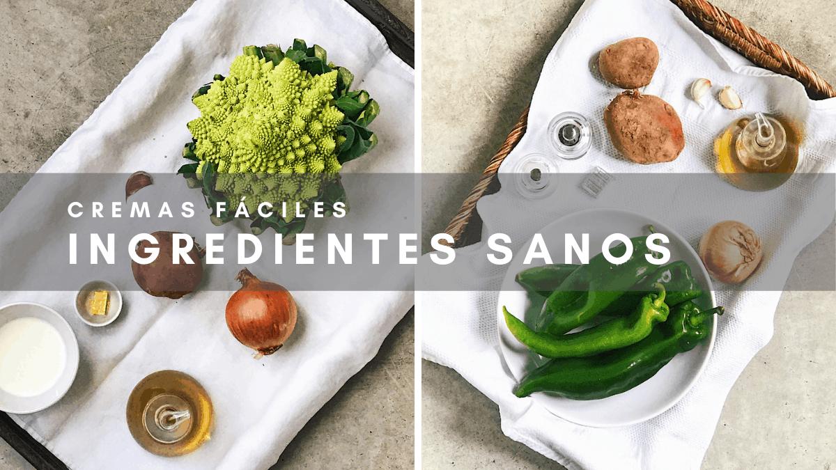 Crema de verduras ingredientes