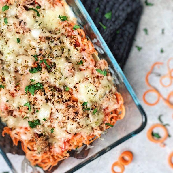 Receta de espaguetis con atun