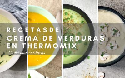 LAS MEJORES RECETAS DE CREMAS DE VERDURAS CON THERMOMIX