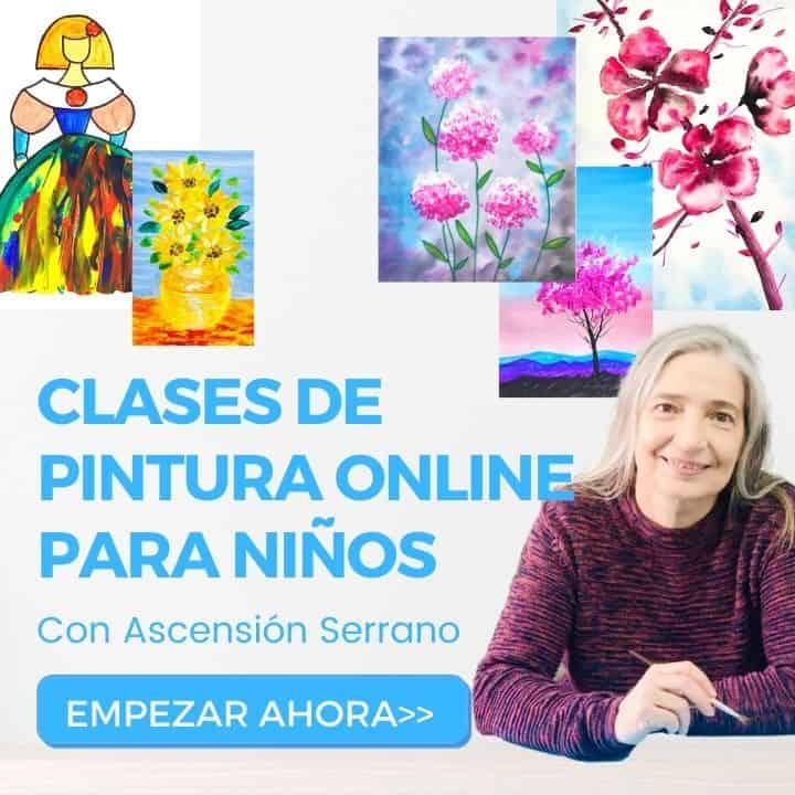 Clases de pintura online pintapeques
